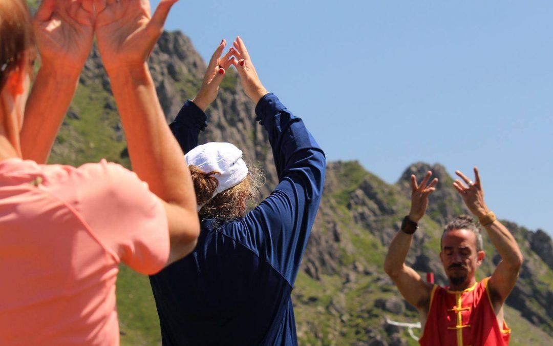 Matin énergie Qi gong dans les spots nature des Pyrénées