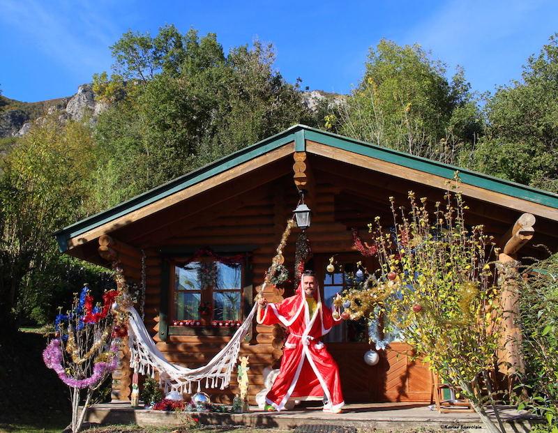 Un Noël pyrénéen à l'écovillage vacances du Pibeste