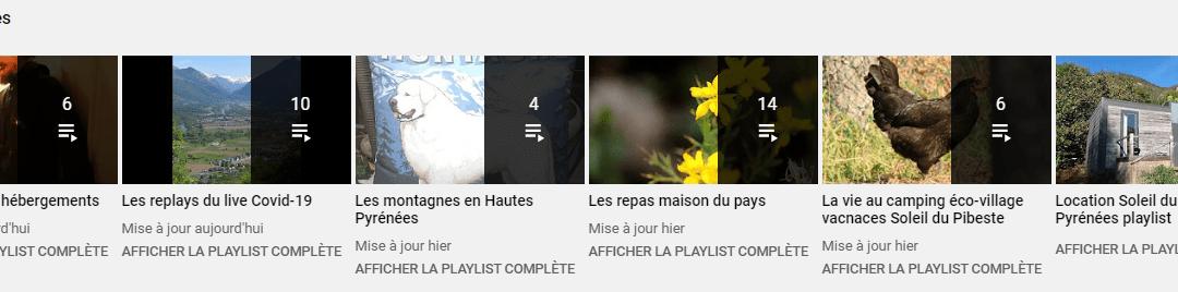 Playlist vidéos Pyrénées