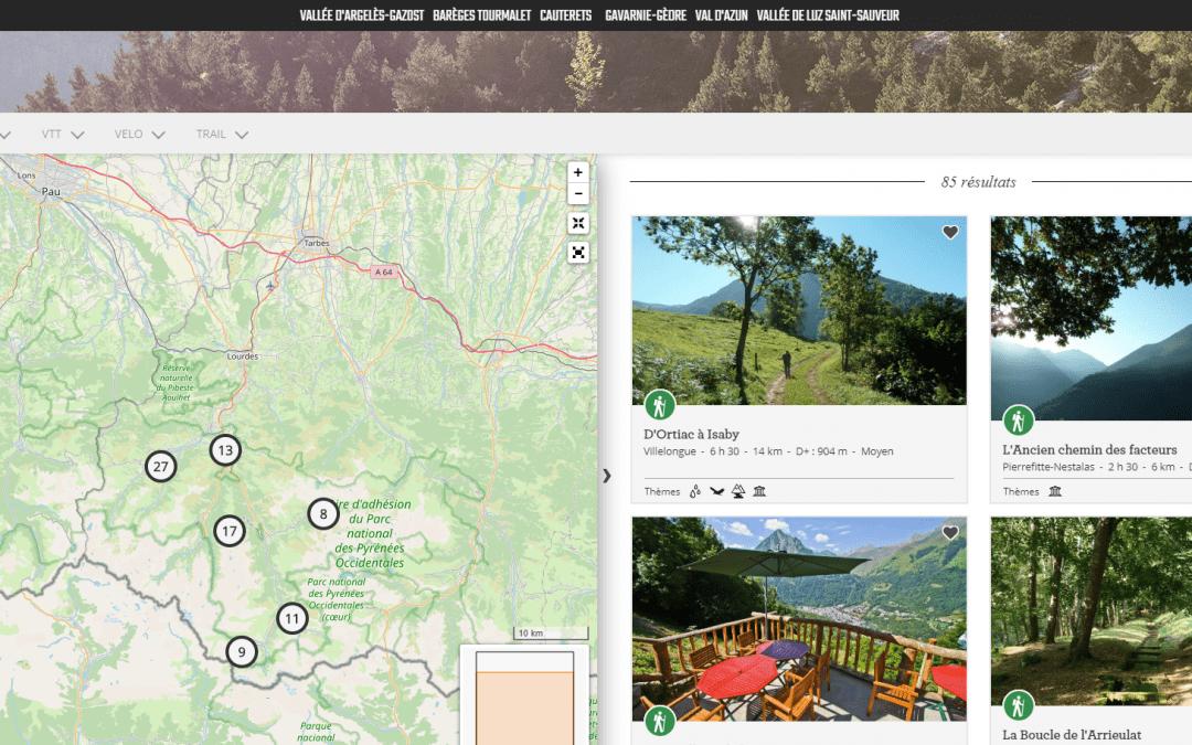 Application mobile Rando vallées de Gavarnie .com