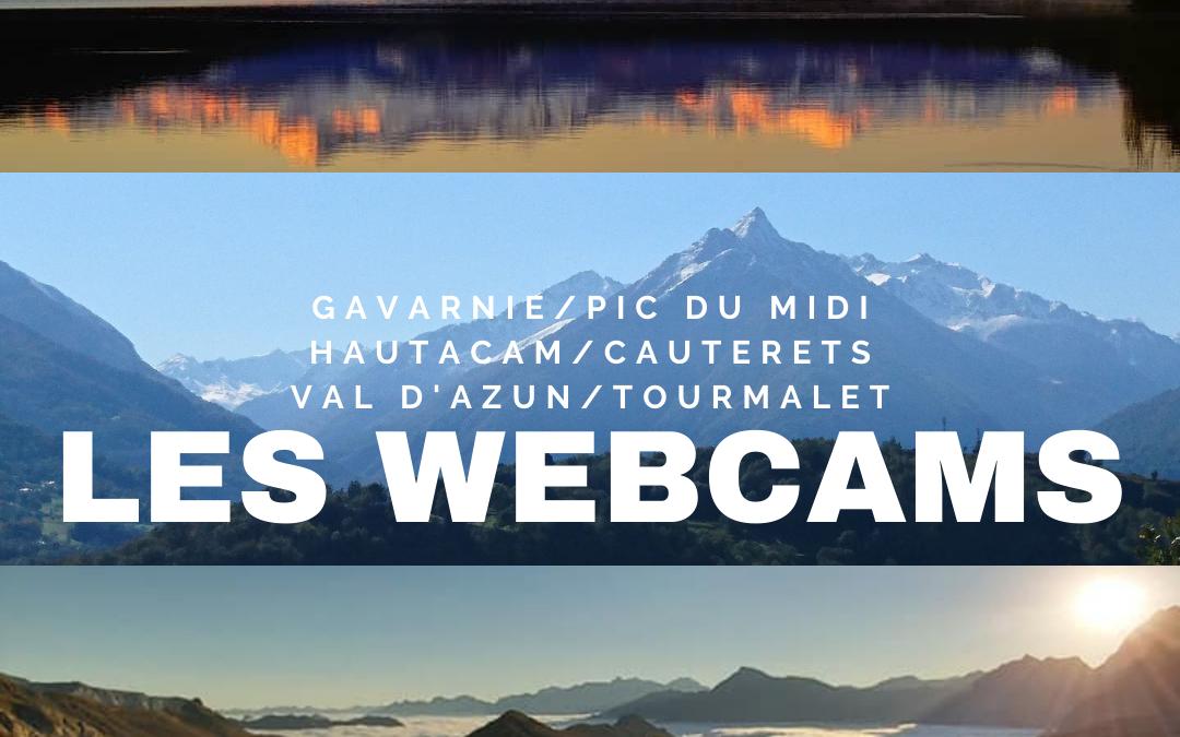 Les webcams en vidéo météo