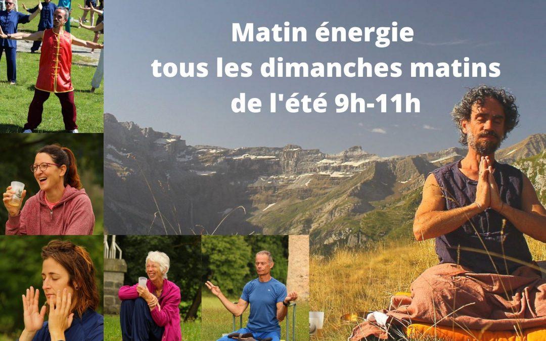 Matins énergie des grands sites Occitanie