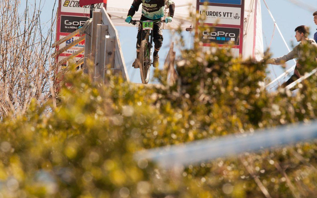 Traces GPS VTT: Agos-Vidalos vers Lourdes Pic du Jer arrivée UCI DH