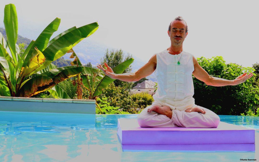 Méditation sur et avec l'eau